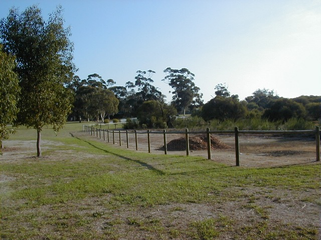 Wilson Wetland rehabilitation area
