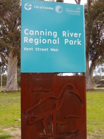 Regional Park Signage