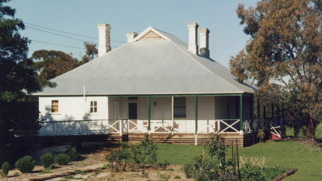 Yule Brook House after restoration in 2002/2003